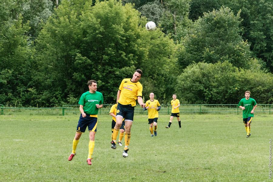 футбольный матч в городе саров