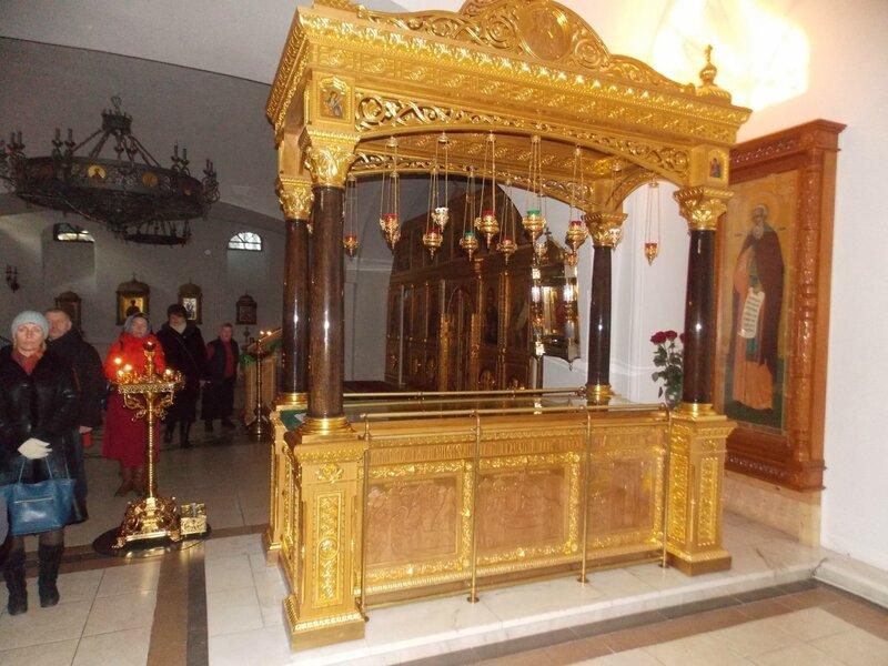 Рака преподобного Тихона Медынского, Калужского чудотворца