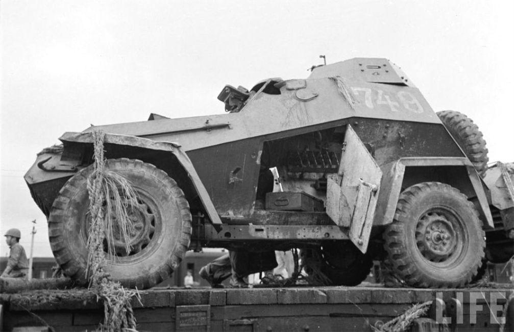 Советский бронеавтомобиль ба-10 3617