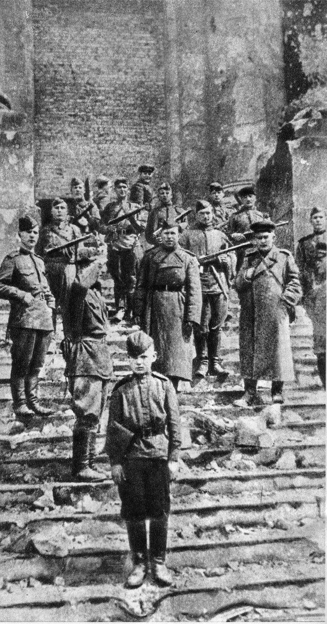 Взятие Рейхстага. (41 ФОТО). 13