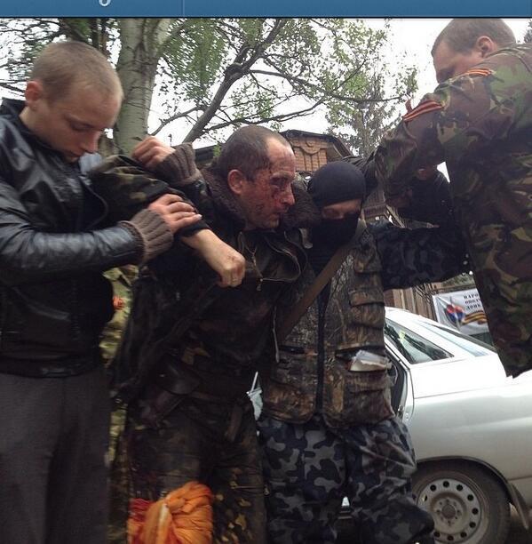 Пилот сбитого в Славянске вертолёта