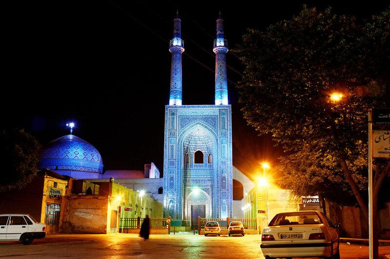 Йезд. Пятничная мечеть.