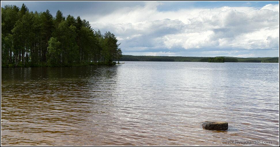 Озеро Конттокиярви
