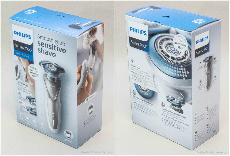 Обзор электробритвы Philips 7000