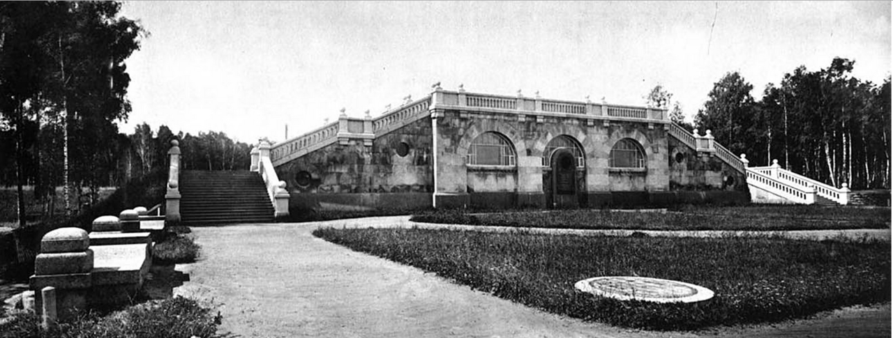 20. Павильон над Воробьевским резервуаром
