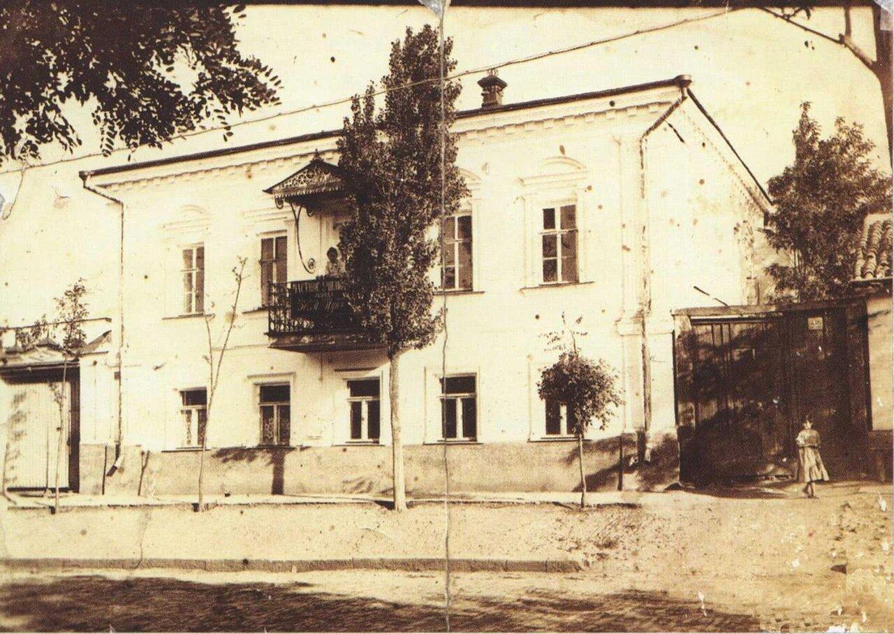 Успенская улица. Дом Ю.М.Цук