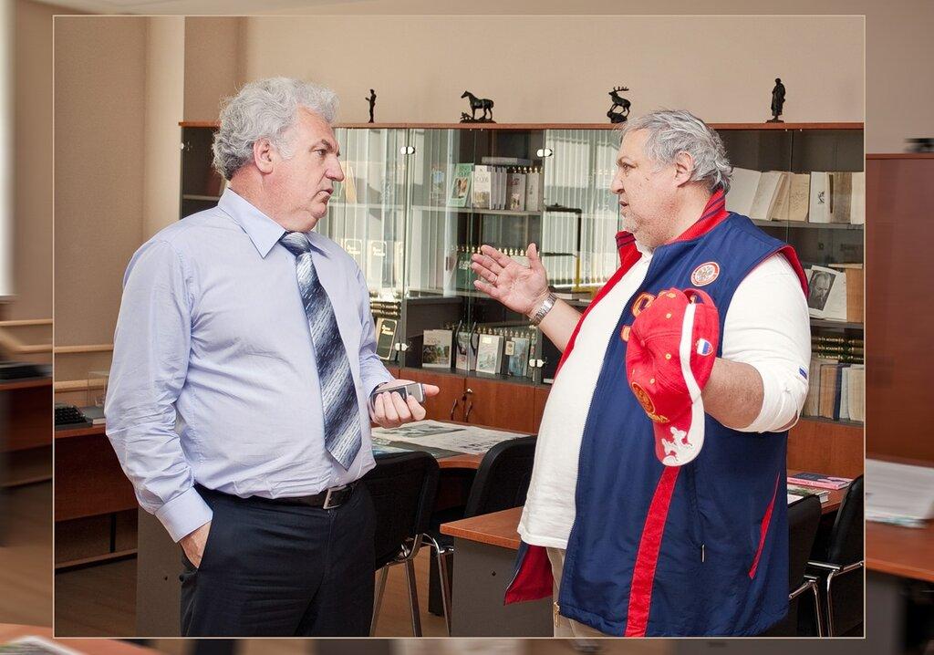 Александр Гладышев и Владимир Гургенидзе