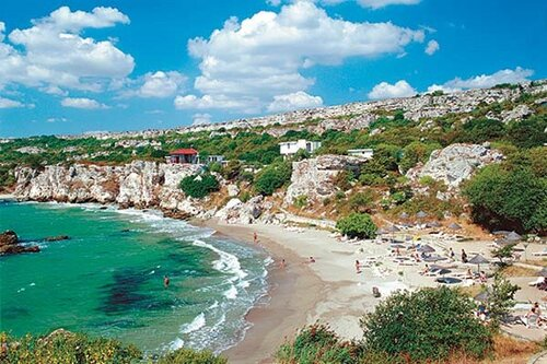 Курорт Русалка пляж