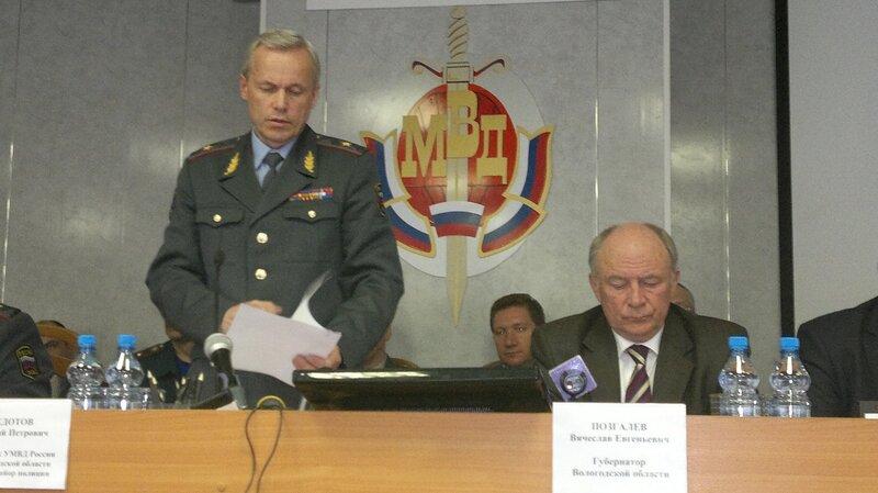 Перевод Виталия Федотова сопровождается серьезным скандалом в мурманской милиции