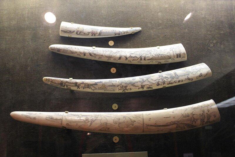 Резьба по моржовой кости