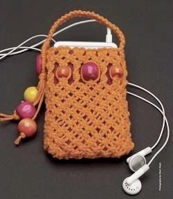 Макраме сумки и схемы плетения