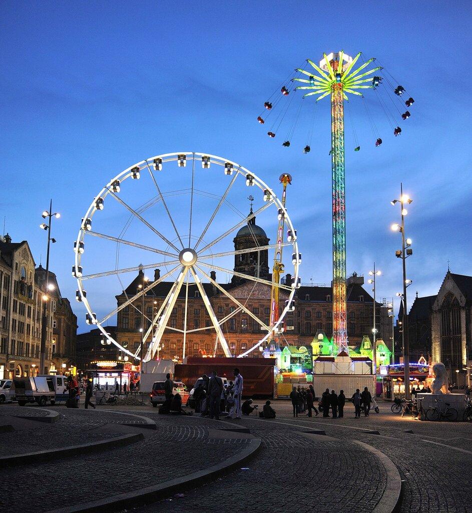 Амстердам сексуальные аттракционы