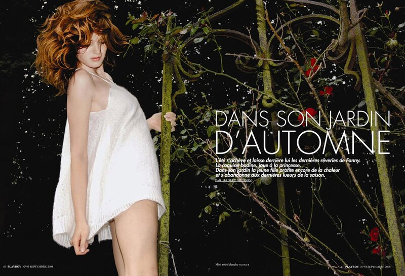 Фанни Франсуа / Fanny Francois in Playboy France september 2008