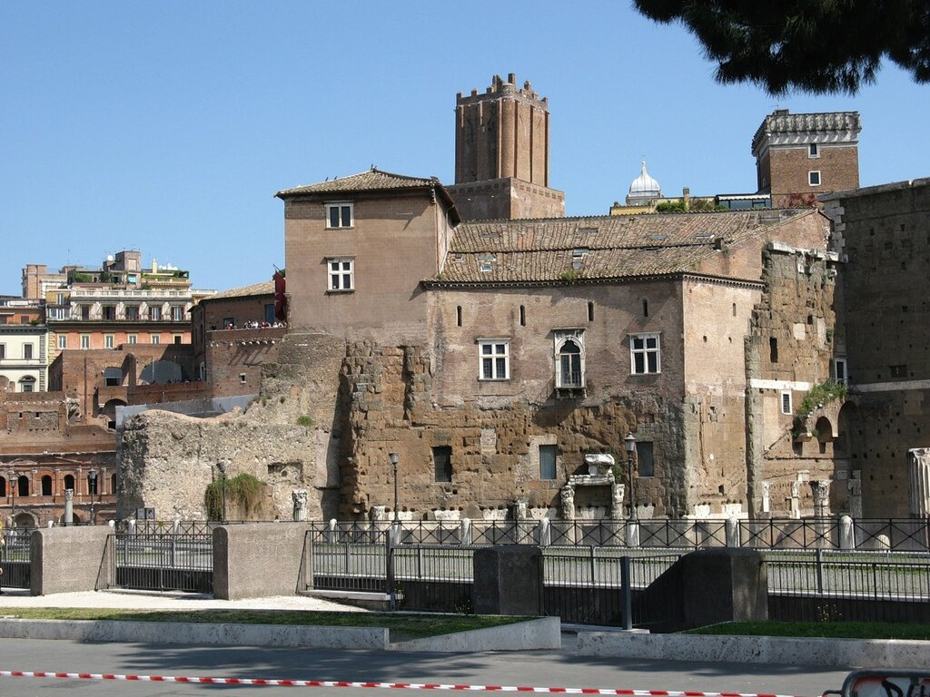 Рим. Форум Августа.
