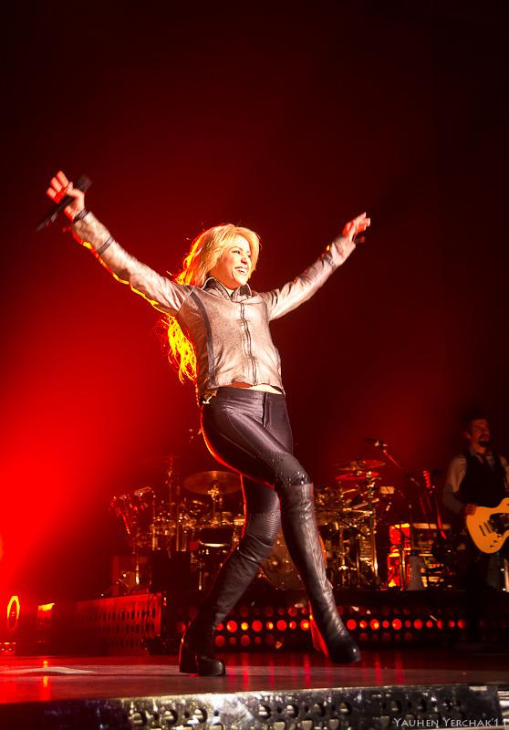 Shakira in Minsk, Шакира в Минске, photo, фото