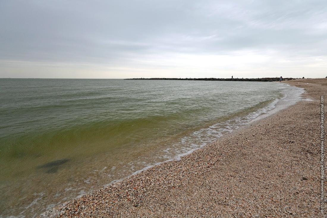 Азовское море в Ейске