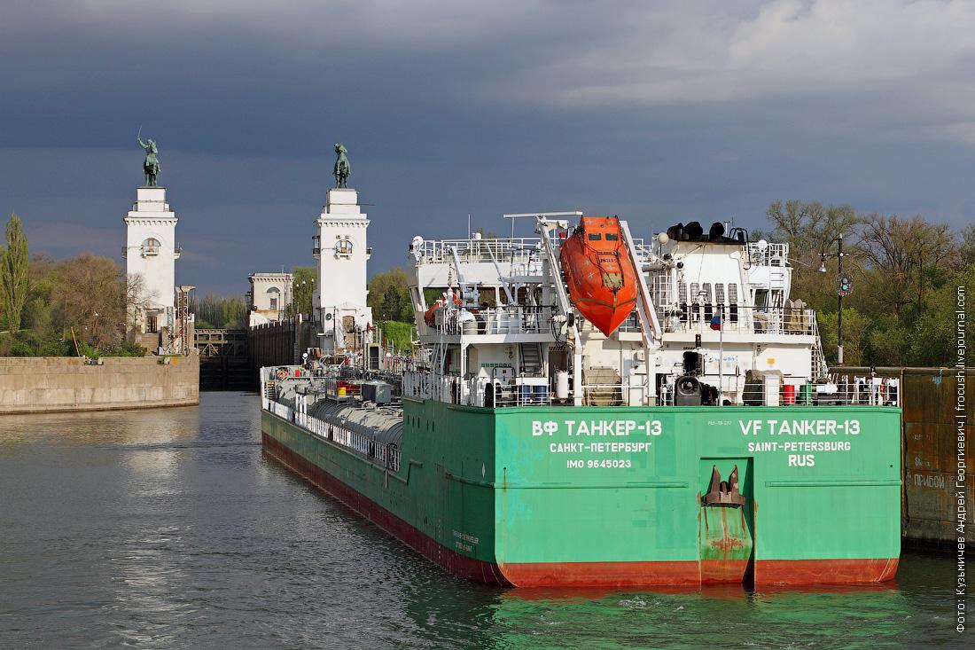 Проходим шлюзы Цимлянского гидроузла