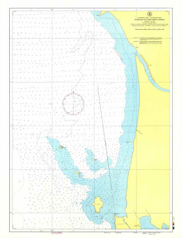 Карта Устье реки Олонка
