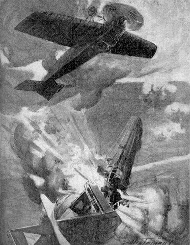 Атака Варнефорда и взрыв LZ-37.