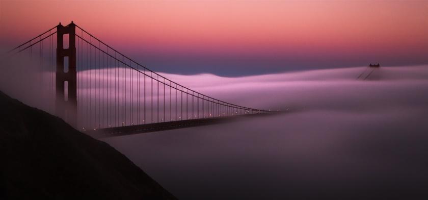 Красивые фотографии тумана в Сан Франциско, США 0 142276 f49fb4c7 orig