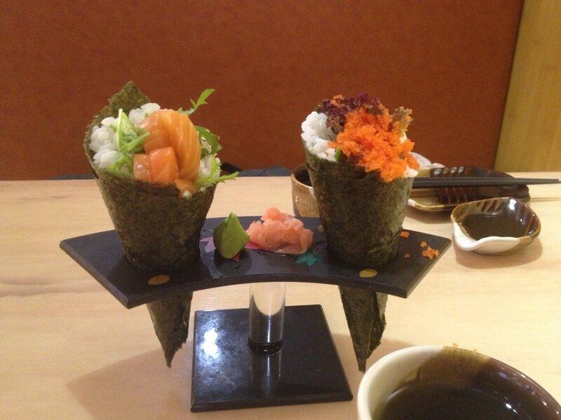 Японские блюда в гонконге