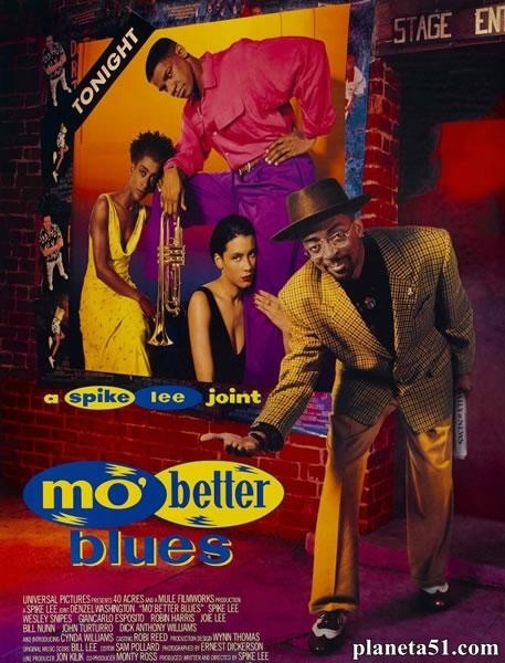 Блюз о лучшей жизни / Mo' Better Blues (1990/WEB-DLRip)