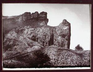 Вид гор Козьи рожки.