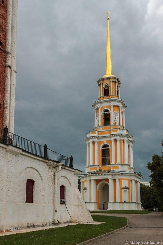 Соборная колокольня, Рязанский кремль