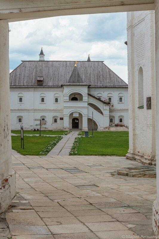 Певческий корпус, Рязанский кремль