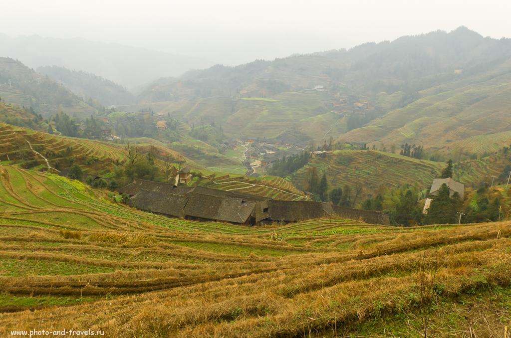 Фото 4. Самостоятельные туры в Китай. Рисовые террасы Хребет Дракона по пути к площадке №3