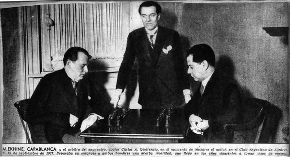 Алёхин - Капабланка, 16 сентября 1927