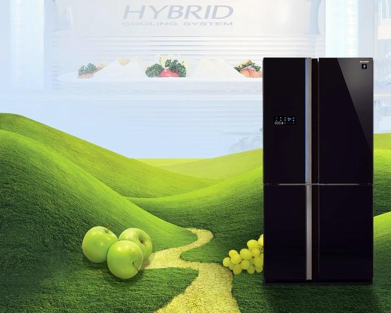 японские холодильники Hitachi Panasonic Mitsubishi Sharp Toshiba