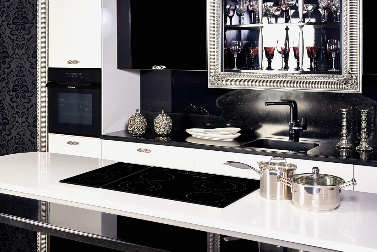Hi-tech стиль кухонный дизайн, кухни в строгом стиле