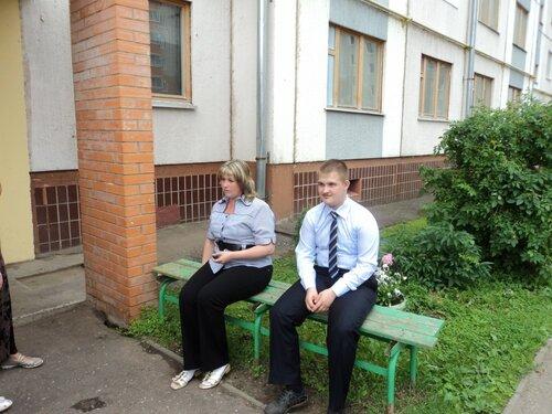 Ольга с сыном