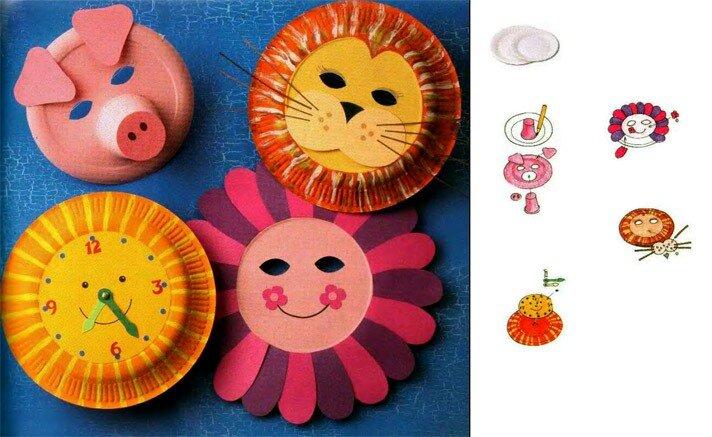 Поделки для дошкольников из разных материалов