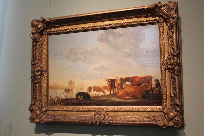 Коровы на берегу реки (Альберт Кейп)