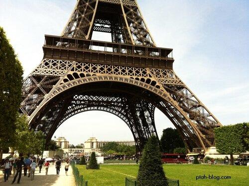 Париж, Эйфелева башня, Франция