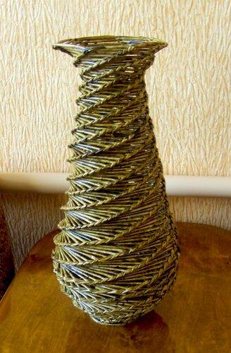 Плетение из газет вазы мастер класс - Njkmznnb.ru