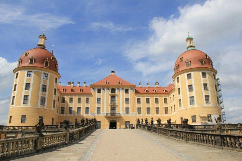 2011_06 Замок Морицбург Schloss Moritzburg