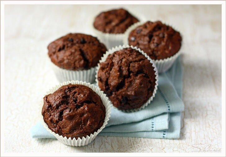 Кексы с шоколадными кусочками рецепт с фото