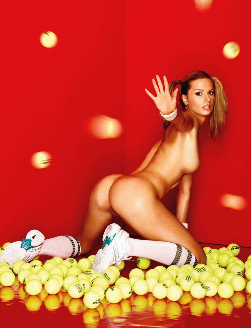 Любица Аврамович / Ljubica Avramovic in Playboy Serbia july-august 2011