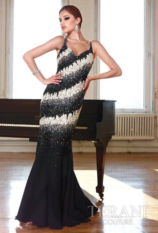 Смотреть другие модели платьев Terani 2012.  Вечерние, коктейльные...