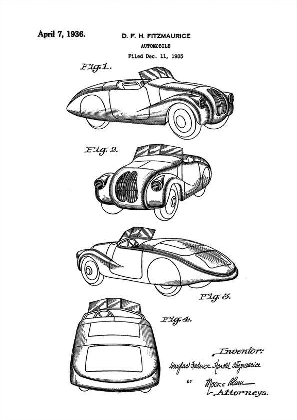 Patent print car, Tatra cars, Douglas Fitzmaurice, 1936 1.jpg