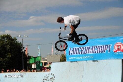 Москва, Лужники, праздник спорта