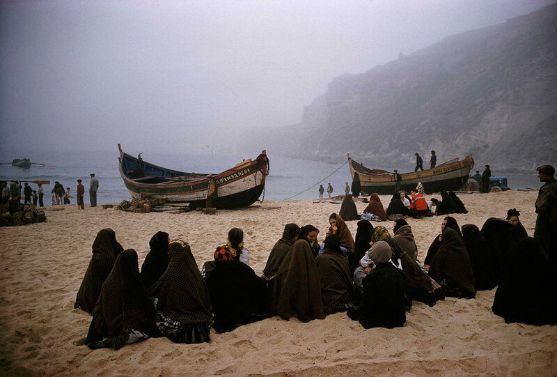 Awaiting Husbands at Sea, Portugal, 1965 by THOMAS NEBBIA.jpg