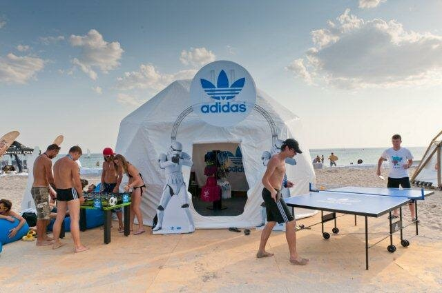 adidas Originals поддержал фестиваль Z-Games
