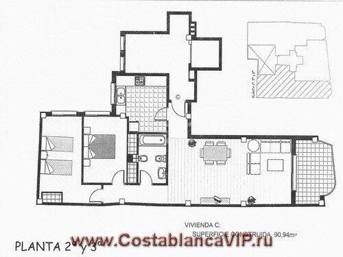 квартира в Gandia, квартира в Гандии, квартира в Испании, недвижимость в Испании, квартира в новостройке, Коста Бланка, CostablancaVIP