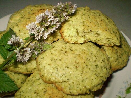 Мятное печенье...пошагово