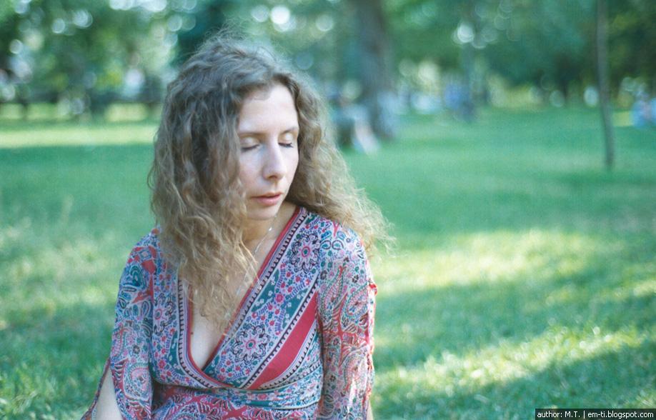 Фото. Портрет. Настя и ветер.