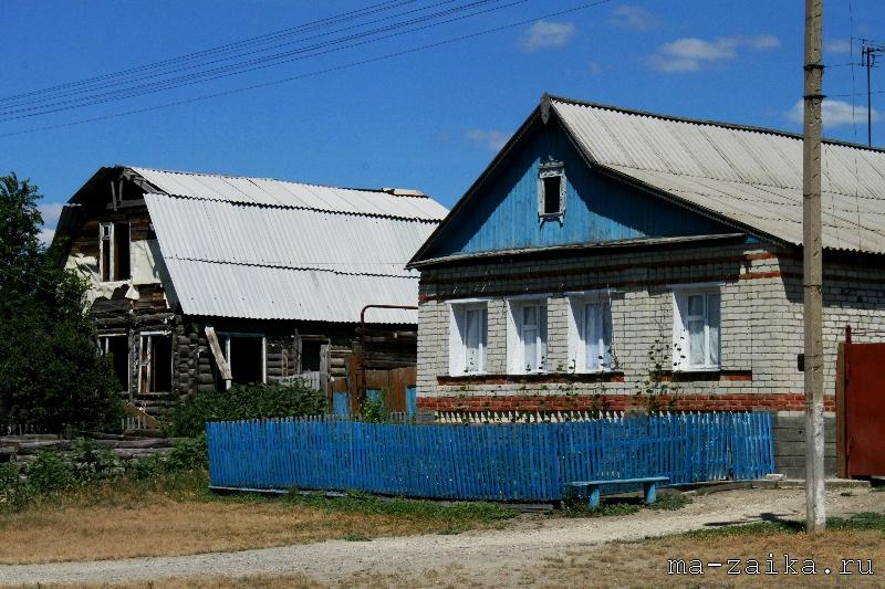 Вот моя деревня, вот мой дом родной..., село Ключи, вольский район саратовской области, 16 июля 2011 года.
